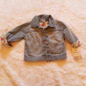 Carter's Adorable baby jean jacket